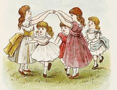 bumble button: Darling Illustrations by Constance Haslewood of Victorian Children
