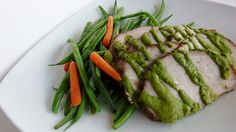 Herb Roasted Pork with Parsley Shallot Sauce Healthy Meals, Healthy Recipes, Pork Roast, Fresh Vegetables, Parsley, Avocado Toast, Feel Better, Gourmet Recipes, Herb