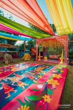 Pool Party Decorations, Outdoor Wedding Decorations, Backdrop Decorations, Ceremony Decorations, Indian Wedding Theme, Desi Wedding Decor, Wedding Mandap, Wedding Events, Wedding Ideas