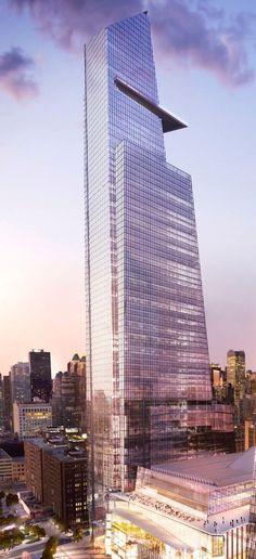 30 Hudson Yards (Time Warner)   374 m   1,227 ft   80 fl   Kohn Pedersen Fox Associates
