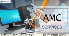 Awizom Tech Bytes is one of the leading IT Infrastructure Service, Computer AMC Service Providers in Raipur, Chhattisgarh. We Provide Laptop, Desktop, Annual Maintenance Contract (AMC) for different services or products.  www.Awizomtech.com Phone no. 0771-2412821, 2412921, 6268708414 Email: info@awizomtech.com Address: 5th Floor Capital Plaza, Near Fruit Market, Deopuri, Raipur (C.G.)- 492015  #awizom #awizomtech #amc #amcraipur #computeramc #softwarecompany #AMCcompany #Raipuramc… Domain Knowledge, Computer Repair Services, Best Computer, Software Development, Over The Years, Desktop, Laptop, Technology, Marketing