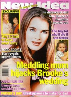 New Idea 1996 BROOKE SHIELDS Elizabeth Taylor ALICIA SILVERSTONE Paul Hogan   eBay