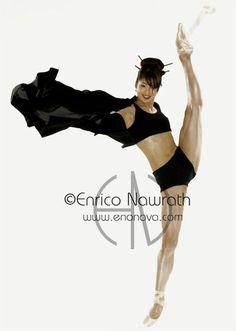 Shoko Nakamura, Staatsballett Berlin, photoshoot by Enrico Nawrath.
