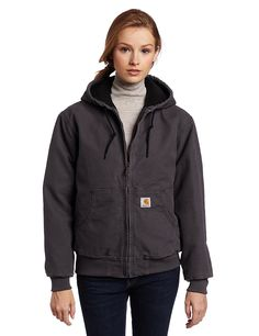 Carhartt Women's Lined Sandstone Active Jacket WJ130 – Shop2online best woman's fashion products designed to provide