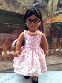 American Girl Doll ClothesSundress Necklace Hair by gofancynancy, $29.99