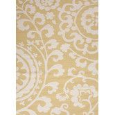 Found it at Wayfair - Maroc Wild Lime Floral Area Rug