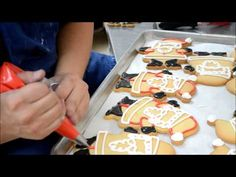Making process of Christmas Cookies - Santa Clause Cookies