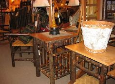 Dining Tables & End Tables   Adirondack Rustic Furniture Gallery