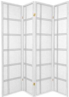 Square Design Shoji Screen Room Divider - 4 Panel White SQUARE FURNITURE http://www.amazon.com/dp/B00SLOYNSW/ref=cm_sw_r_pi_dp_DqVOwb1WZ4JJV