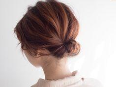 ギブソンタックの簡単アレンジ方法を紹介します! 着物や結婚式のヘアアレンジにも使えるくるりんぱを応用した髪型です。大人っぽいシルエットなので、30代や40代の方にもおすすめです。 Hair Arrange, Ponytail, Wedding Hairstyles, Hair Beauty, Hair Styles, Makeup, Yahoo, Angel, Fashion