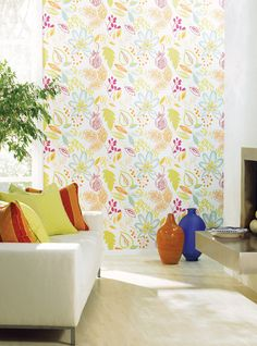 "Loving this wallpaper - Carey Lind ""Riviera"""