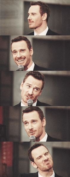 Multifaced Michael Fassbender
