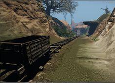 Game environment, CryEngine (WIP)