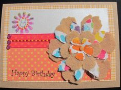 Card created by PINQUETTE Mary using Pinque Peacock Layered Garden Beauties.