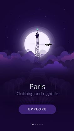 This is a concept of a app that you are able to find clubbing and nightlife in some of the most famous cities around the world.