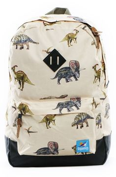 """""""The Fletcher Backpack in Dino"""" by GIGANTICS   THIS ITEM IS NO LONGER AVAILABLE.   SOURCE: https://flashxhype.com/product/giganticsthe-fletcher-backpack-in-dino/ → #Dinosaurs #Backpack #Gigantics"""