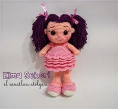 Amigurumi doll is super cute! / Şirin misin sen!