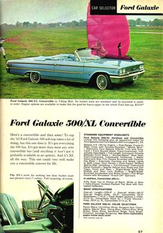 1963 Ford Galaxie.....mom and dad had one of these....but hardtop