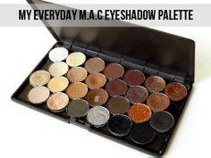 MAC Pro Eyeshadow Palette - removing the interior boundaries