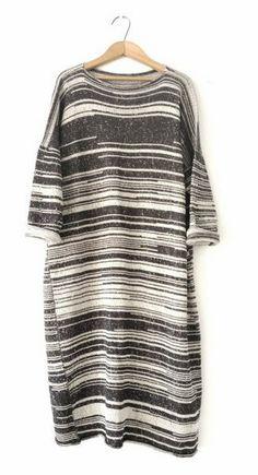 Strata Sweater Dress by Hendrik Lou