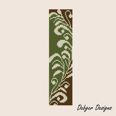 Natures Innocence 2 - Loom Bracelet Cuff Pattern
