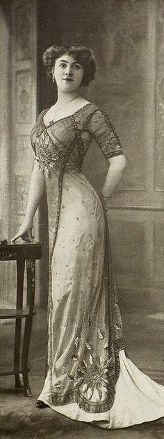 robe du soir 1910 | Flickr - Photo Sharing!