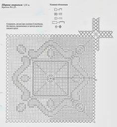 Ivelise Hand Made: De Crochet Avec Place d'édredon merveilleux