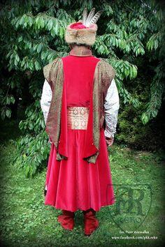 Polish nobelman 18th century in all silks. www.facebook.com/pkk.reko