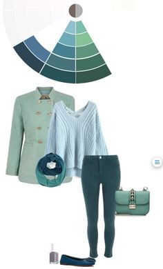 complementary colors: outfit
