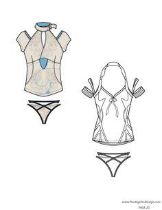 women s t shirt fashion flat template fashion flats