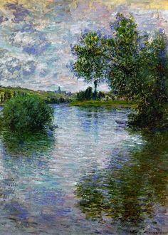 La Seine à Vétheuil ~ Claude Monet 1879