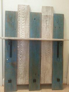 Small coat rack with shelf
