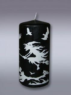 свеча пеньковая хэллоуин, артикул 1664 (Омский Свечной)