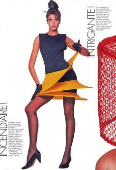 Stephanie Seymore, Elle 1987