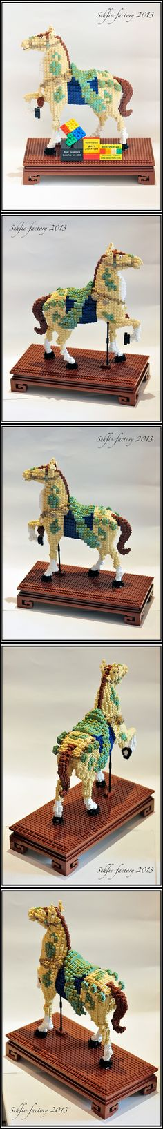 The LEGO Tang Horse