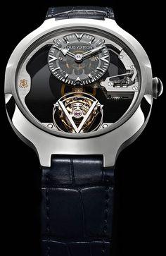 La Cote des Montres : Louis Vuitton Montre Tourbillon Volant « Poinçon de Genève » - Haute Horlogerie Contemporaine