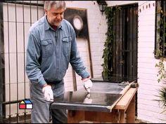 ¿Cómo recuperar una cubierta de melamina dañada? - YouTube