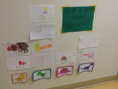 Prek dinosaur unit: drawing and graphing our favorite kind of dinosaur