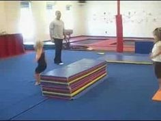 Thursday 1pm Preschool class: 3-4yrs old, Kino, vault drill: squat on