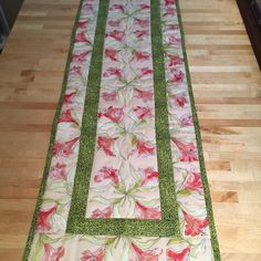 A personal favorite from my Etsy shop https://www.etsy.com/listing/227914150/beautiful-spring-easter-table-runner-in