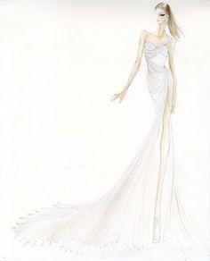 #DonnaKaranAtelier gown, worn by Ashley Greene at #MetGala