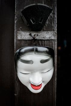 Japanese Mask by @Mahalarp, via Flickr