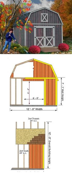 10x20ft shed 1