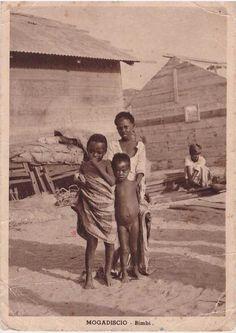 Children (Bimbi) in Mogadishu outcast