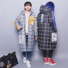 puffy grid coat  free shipping!  aesthetic grid cyberpunk cyber grunge cybergoth fachin coat jacket top free shipping aliexpress