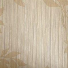 Diseño con motivos tipo vegetal beige en este papel pintado de la colección Windsor XII de Parati.