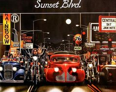 Sunset Blvd. David Mann