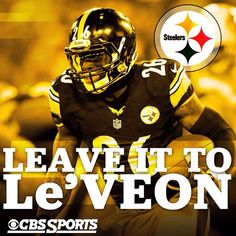 PITTSBURGH STEELERS~#26 Le'Veon Bell.  Best MSU Spartan RB now on one of the greatest NFL teams. With #84 Antonio Brown from CMU, my state is well represented.