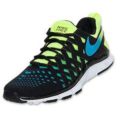 on sale 8b92b 4fe02 Men s Nike Free Trainer 5.0 Cross Training Shoes   FinishLine.com   Volt  Black