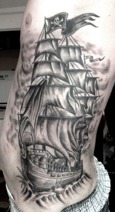 ship tattoo | Tumblr -  Over 30,000 Tattoo Ideas and Pictures Enjoy! http://www.tattooideascentral.com/ship-tattoo-tumblr-3/